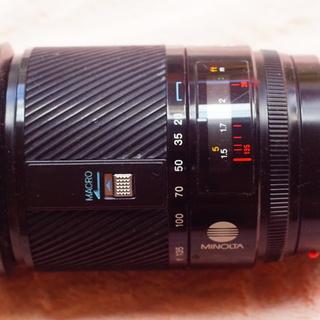 ミノルタα28-135mm f4.0-4.5 ズームレンズ