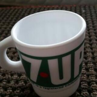 【未使用OUTLET】マグカップ 7UPセブンアップシンプルロゴ