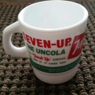【未使用OUTLET】マグカップ 7UPセブンアップクラシックロゴ