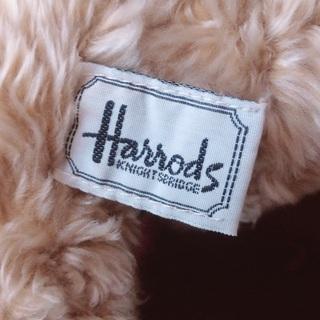 Harrods テディベア アンティーク - 売ります・あげます