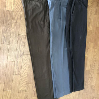 UNIQLO、GU男性のズボン3点&ポロシャツ