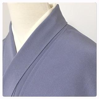 特選 特大 身丈173 裄69.5 正絹 袷 一紋入(灰水色)