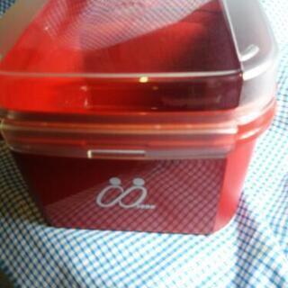 Tupperwareシンプルボックス#2レッド