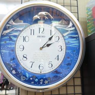 セイコー メロディ掛け時計 AM632S【モノ市場知立店】