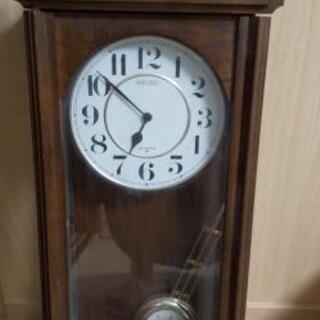 アンティーク風掛け時計(ジャンク品)