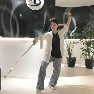 元中国太極拳チャンピオンの「はじめての太極剣きょうしつ(60分)...