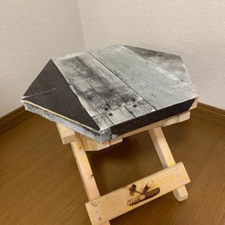 折りたたみ  木製テーブル  椅子