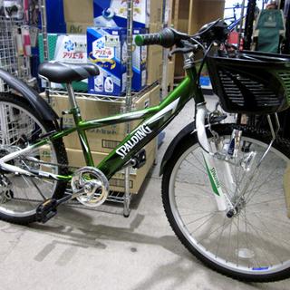 札幌 美品 24インチ 子供用自転車 キッズ スポルディング 2...