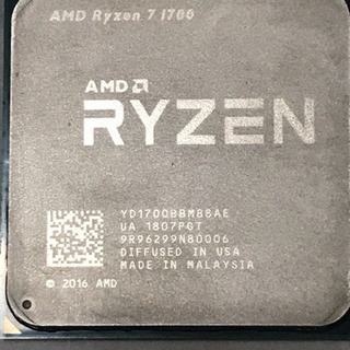 直接取引希望 中古Ryzen7 1700 動作品