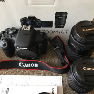 Canon EOS kiss X8i  ダブルズームキット