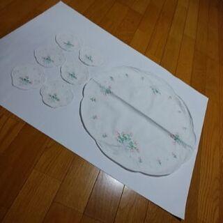 花瓶敷き(ドイリー)&コースター セット  🌟未使用品🌟