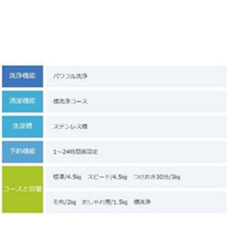 TOSHIBA aw-45m7 ほぼ新品です!