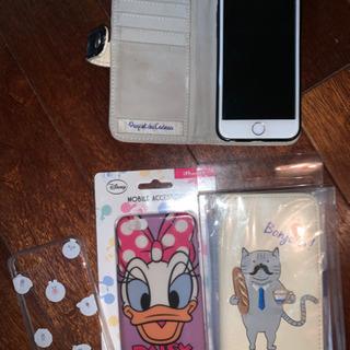 iPhone6s 手帳型ケース、ソフトケースセット♪
