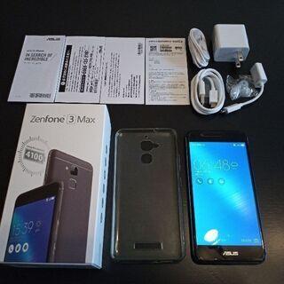 ※売却済み ASUS ZenFone3 MAX (ZC520TL...