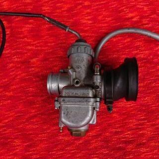 TY250用キャブレタースロットルワイヤー付きジャンク