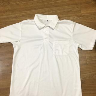 訳あり  ワークマン  ポロシャツ  白   サイズM