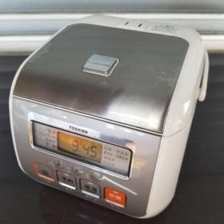 TOSHIBA 保温釜 炊飯器 3合 作動OK!