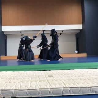 剣道教室 中学生~大人クラス 生徒募集