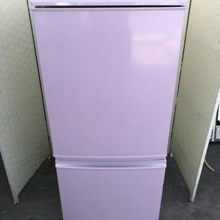 🌈🌈ピンク色の可愛い2ドア冷蔵庫🥰
