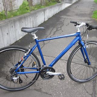 札幌 美品 クロスバイク 自転車のあさひオリジナル プレシ…