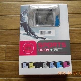 アクションカメラ~フルHD1080P~sports Cam未使用品