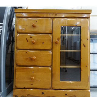 【恵庭】タンス チェスト 収納家具 全国家具工業連合会 中古品