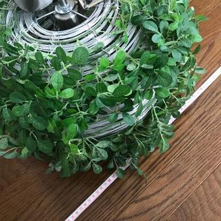 フェイクグリーン 葉っぱの電気のカサ🍀