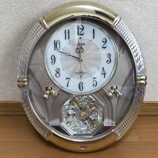 ★CITIZEN シチズン メロディ 電波仕掛け壁掛け時計 PM...