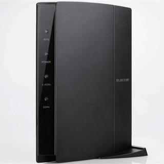 無線LANルーター(Wi-Fi)エレコム +LANケーブル