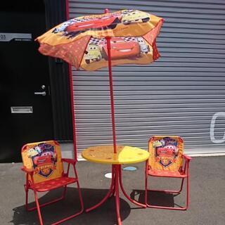 カーズの机&椅子✕2(アウトドア)