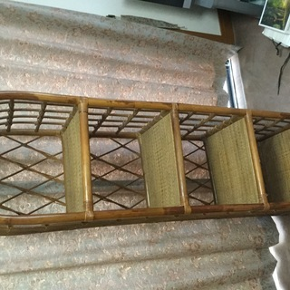 籐製四段棚をお譲りします