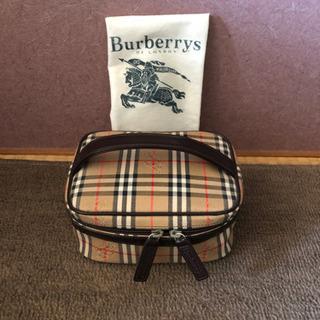 BURBERRY 未使用コスメポーチ 箱無し3000円