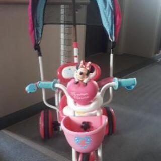 ミニーちゃん三輪車
