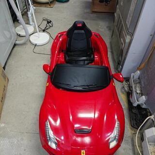 ラスター 電動自動車 赤いフェラーリ 新品価格32000