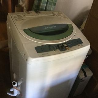 洗濯機差し上げます❷