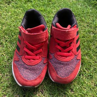 子供 靴 adidas 18センチ