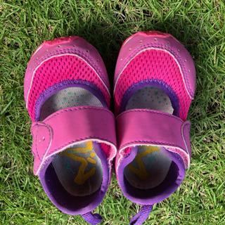 子供 靴 ミズノ サンダル 12センチ