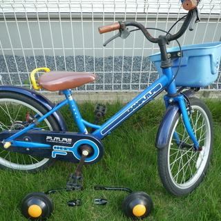 子供用 子ども用 自転車 (おそらく18インチ) 中古 引き渡し...