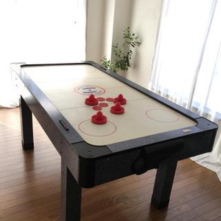 木製 テーブルエアホッケーゲーム Cooper TOP ACTI...