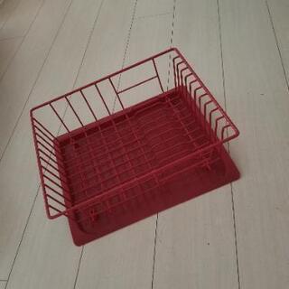 francfranc 食器赤色トレイ