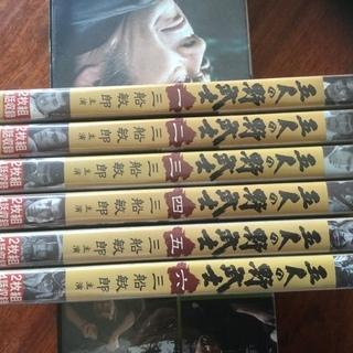 時代劇   三船敏郎  五人の野武士   美品 DVD