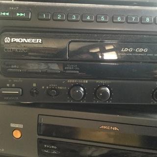 レーザーディスクプレーヤー   差し上げます。