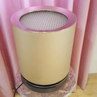 美品!ゴールド色の空気清浄機!加湿器サービス