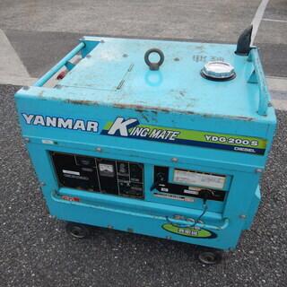 ☆中古品 ヤンマー ディーゼル発電機 YDG200S-6E 60...