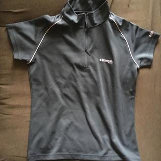 Kaepa レディーススポーツウェア半袖 グレーMサイズ