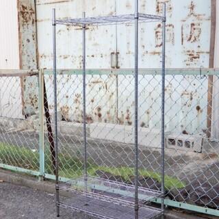 メタルラック スチールラック 3段 収納 飾り棚 本棚 W74x...