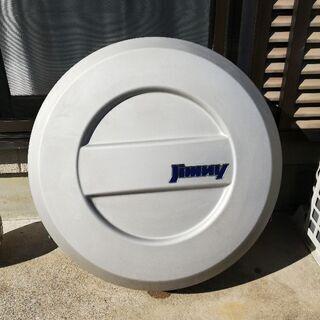 ジムニー(JB23w)アルミスペアタイヤカバー