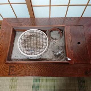 箱火鉢の画像