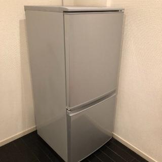 冷蔵庫 シャープ SJ-D14C 137L