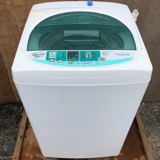 【配送無料】DAEWOO 5.5kg 洗濯機 DWA-G55W